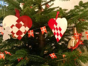 Рождественские сердечки в Дании