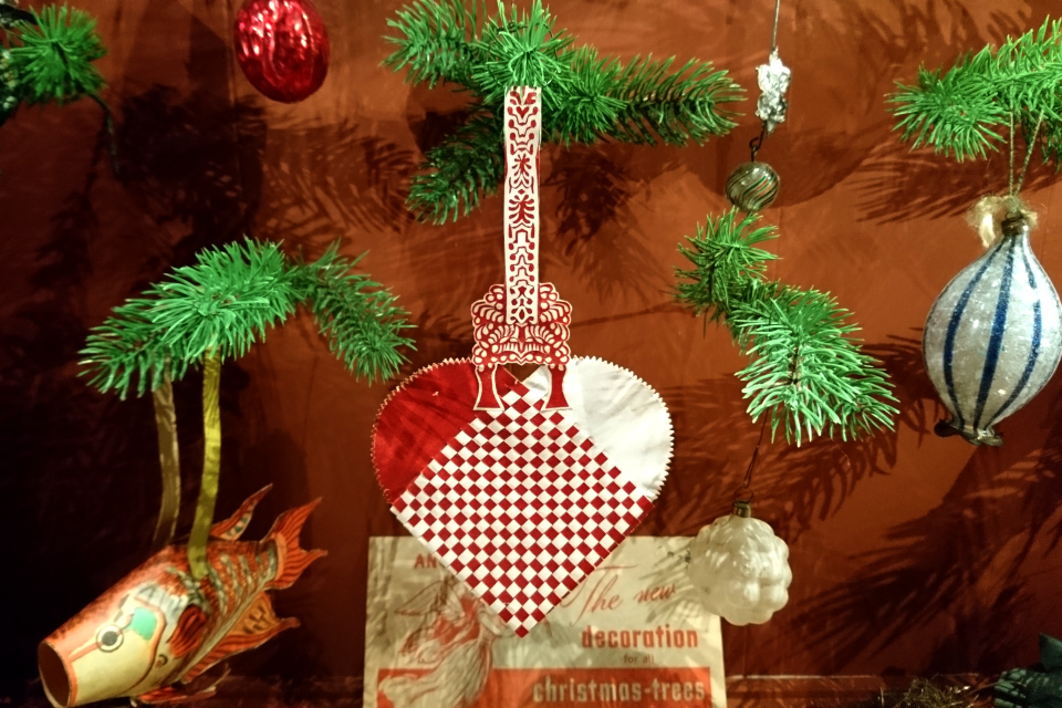 Старое рождественское сердечко как предмет искусства, Дания
