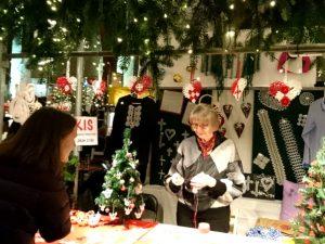 Рождественский базар в Ридехусет