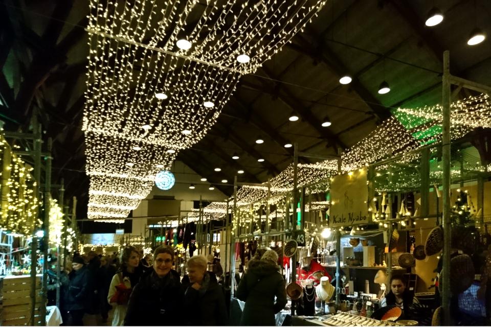 Рождественский базар в Ридехус Орхус, Дания. Фото 12 дек. 2019