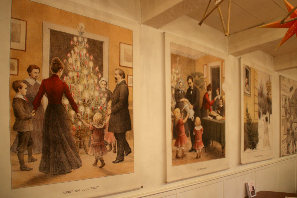 Рождество в Дании 1902 - иллюстрации Пол Штеффенсен (Paul Steffensen)