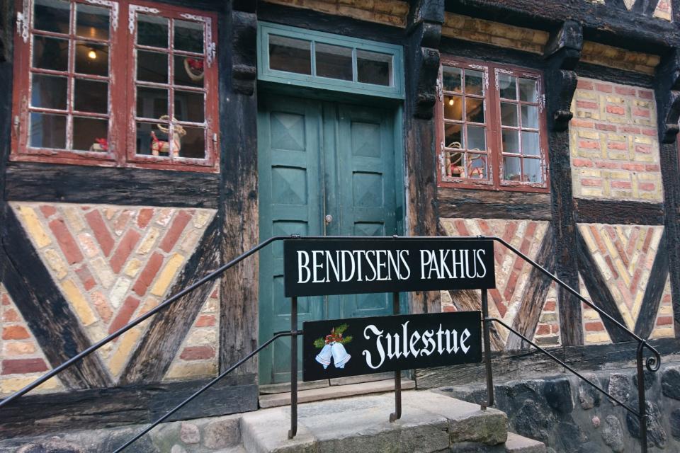 Здание Bendtsens Pakhus с рождественским залом Julestue