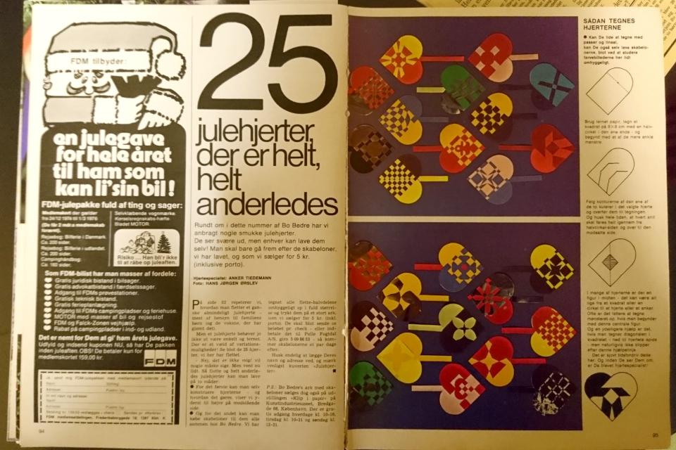 Датский журнал Bo Bedre 1974 года предлагает статью