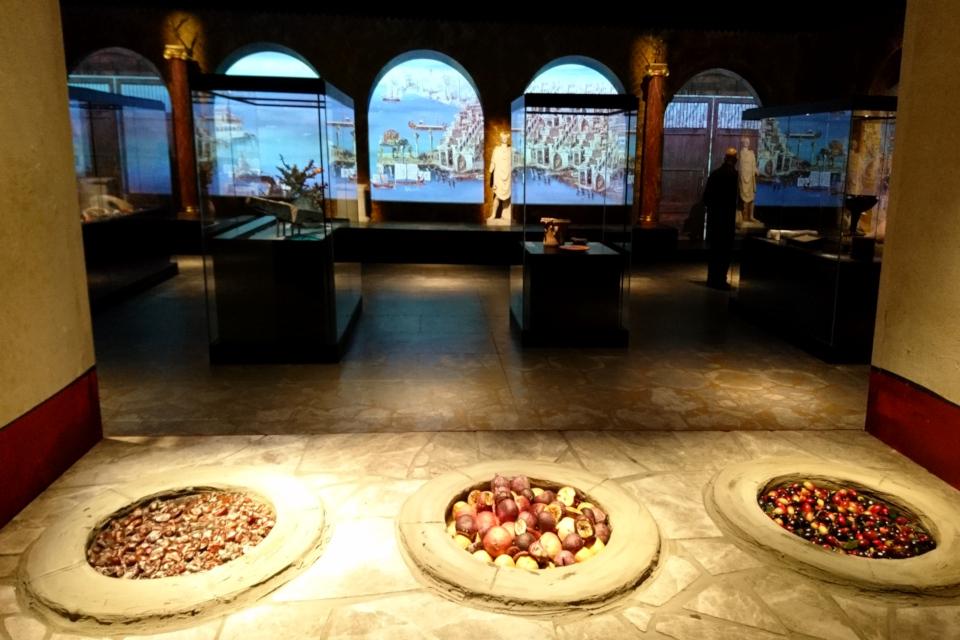 Реконструкция Термополий в музее Мосгорд / Moesgaard Museum, Дания