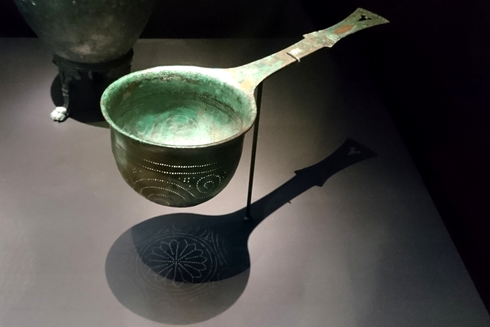 Фильтр для вина, Геркуланум, 1 век н. э.