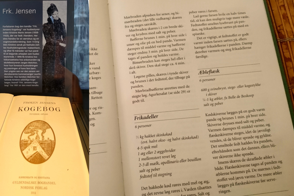 """Эблефлеск из поваренной книги """"Фрёкен Йенсен - вкусная рождественская еда"""""""