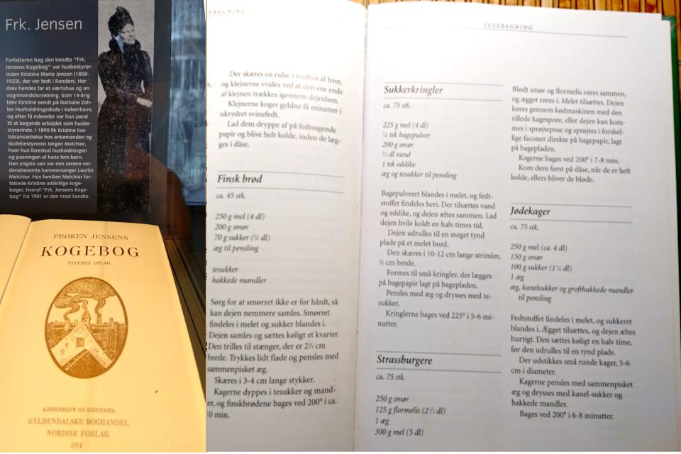 Рецепт Еврейского печенья (Jødekager) из поваренной книги Фрёкен Йенсен