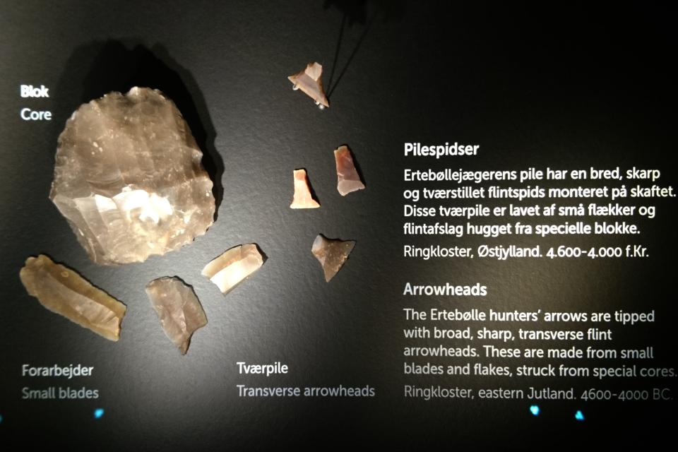 Каменные наконечники стрел, Эртебёлле