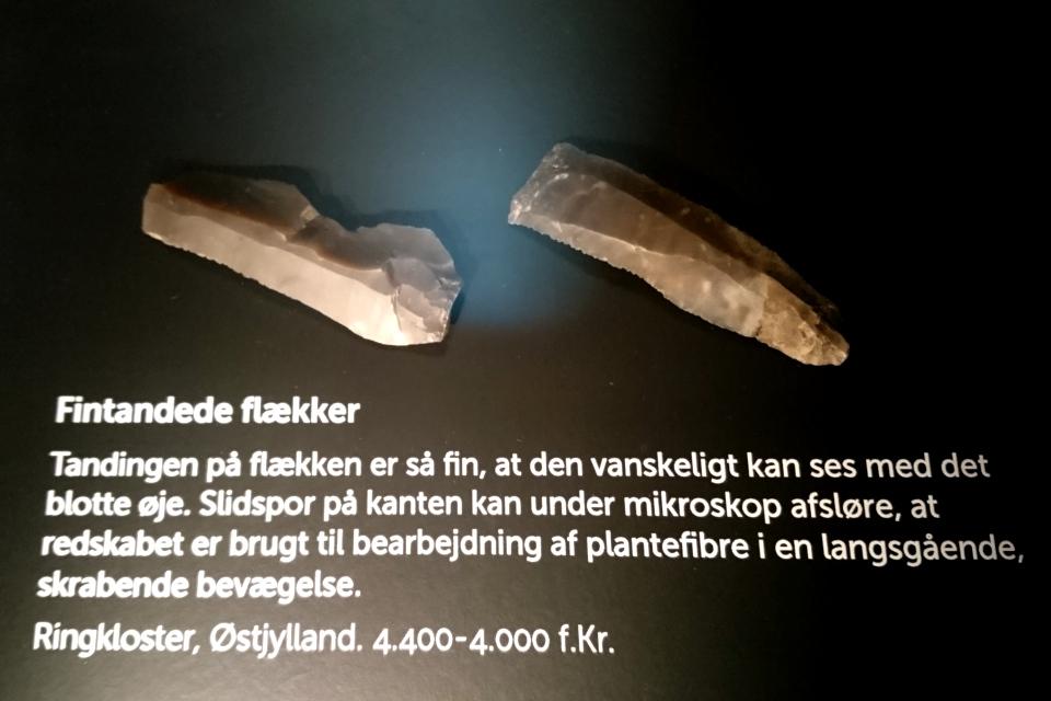 Каменный нож для срезания лыка, 4400 - 4000 г. до н. э., Эртебёлле