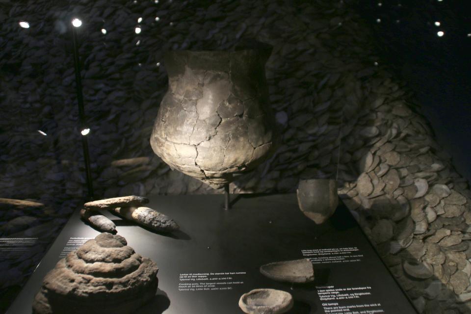 Археологические находки, сделанные на местах поселения Эртебёлле