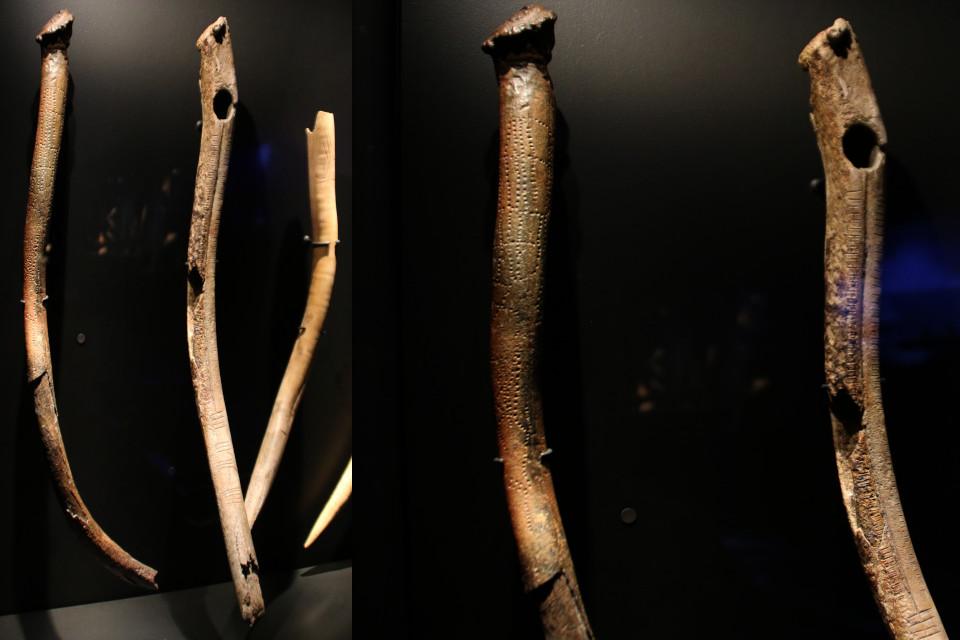 Рога оленя с узорами, 5400-4000 г. до н. э., Эртебёлле
