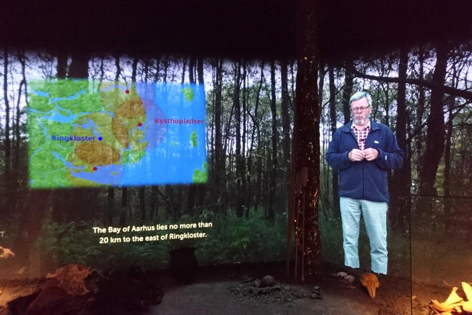 Видеопрезентация археолога про поселения Эртебёлле, Скандерборг