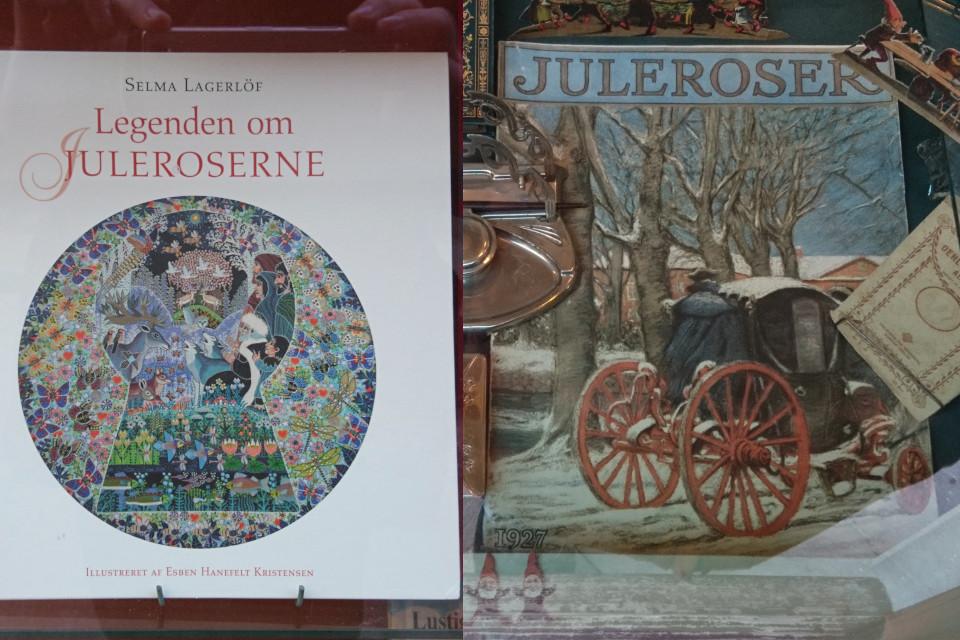Книга с легендой о рождественской розе Сельмы Лагерлёф