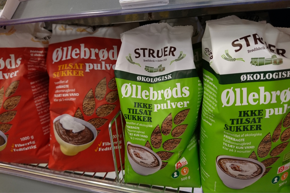 Порошковые смеси для приготовления оллеброд / елеброд (øllebrød)