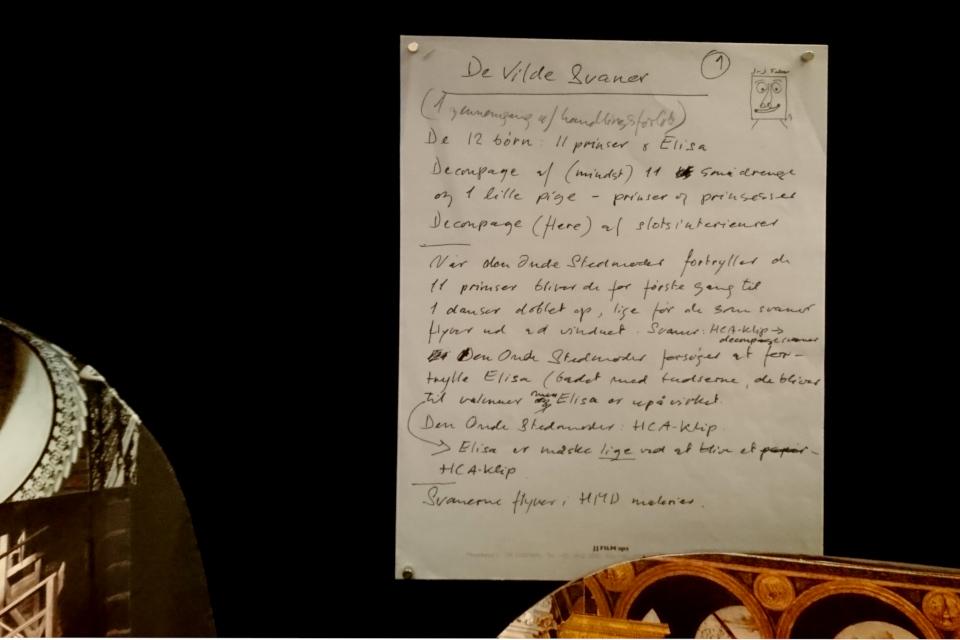"""Тексты королевы Дании Маргрете II с идеями для фильма """"Дикие лебеди"""""""