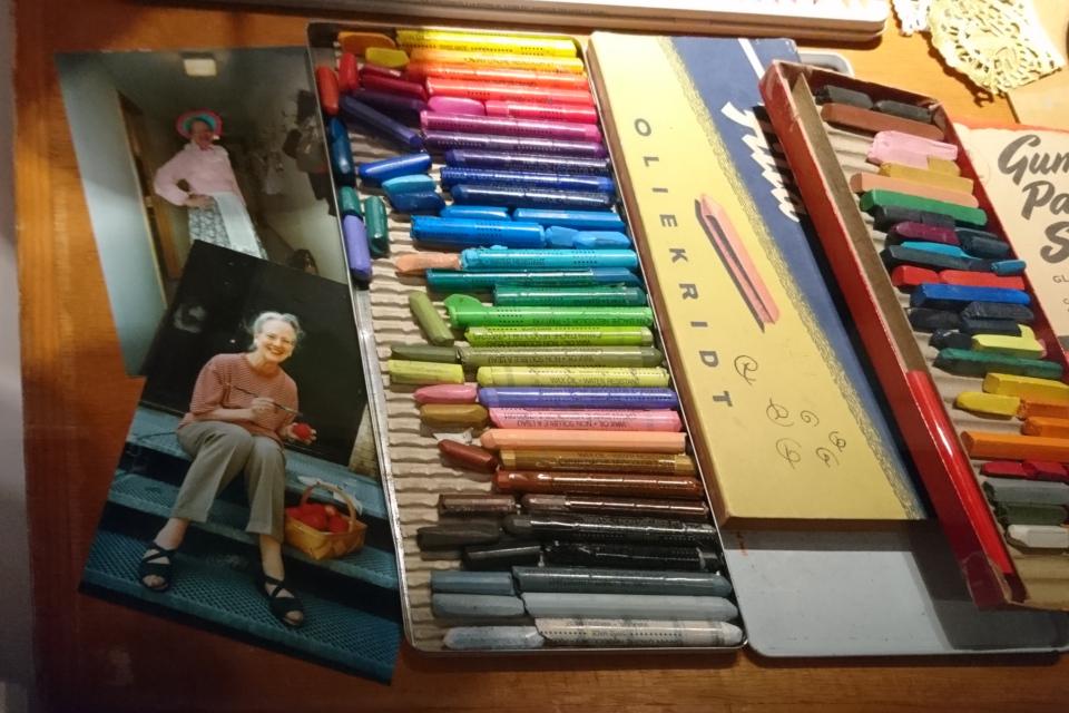 Восковые карандаши королевы Маргрете II