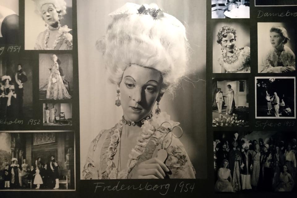 принцесса Маргрете II в образе датской королевы Юлиана Мария
