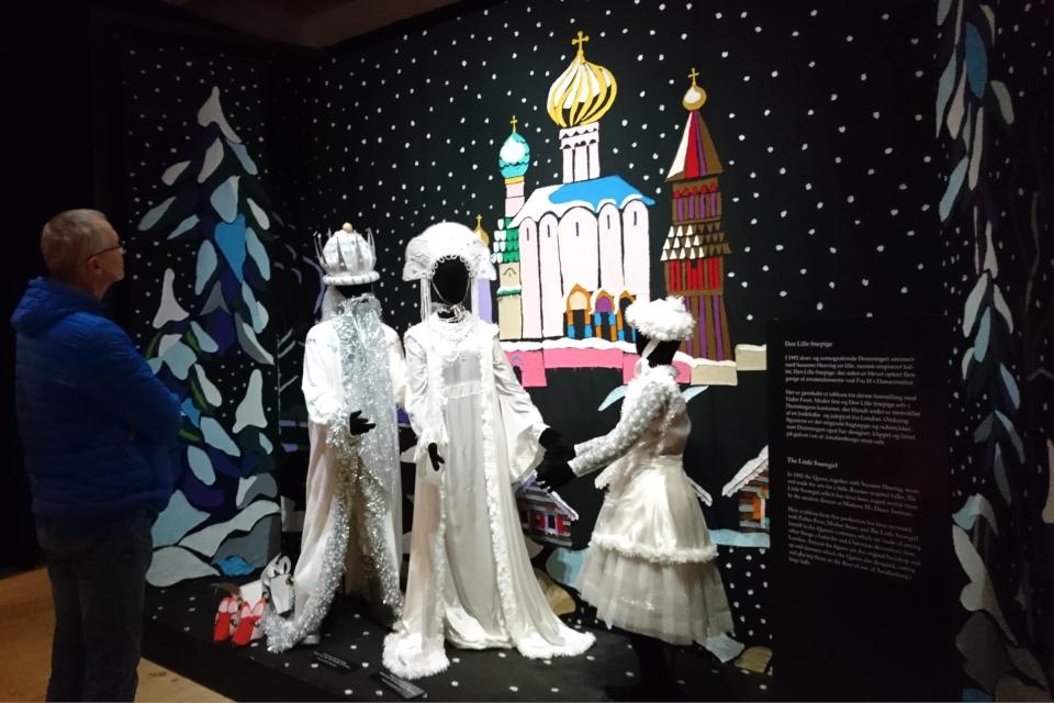 """Костюмы для балета """"Снегурочка"""" / """"Den Lille Snepige"""" - дизайн королевы Дании"""