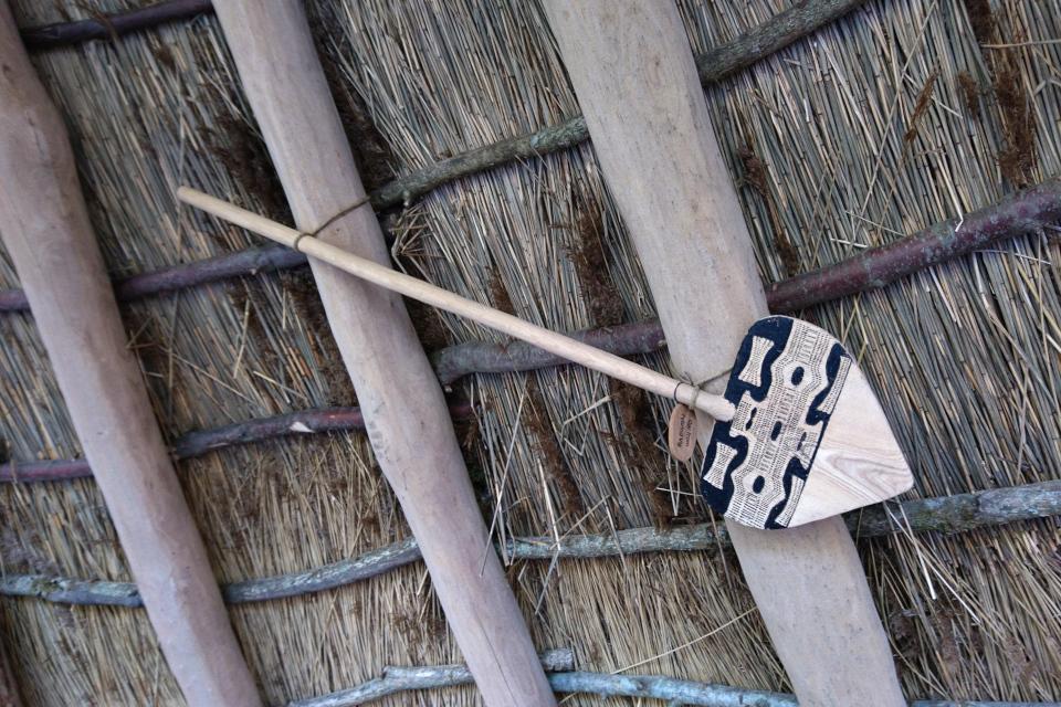 Копия весла периода жизни людей культуры Эртебёлле
