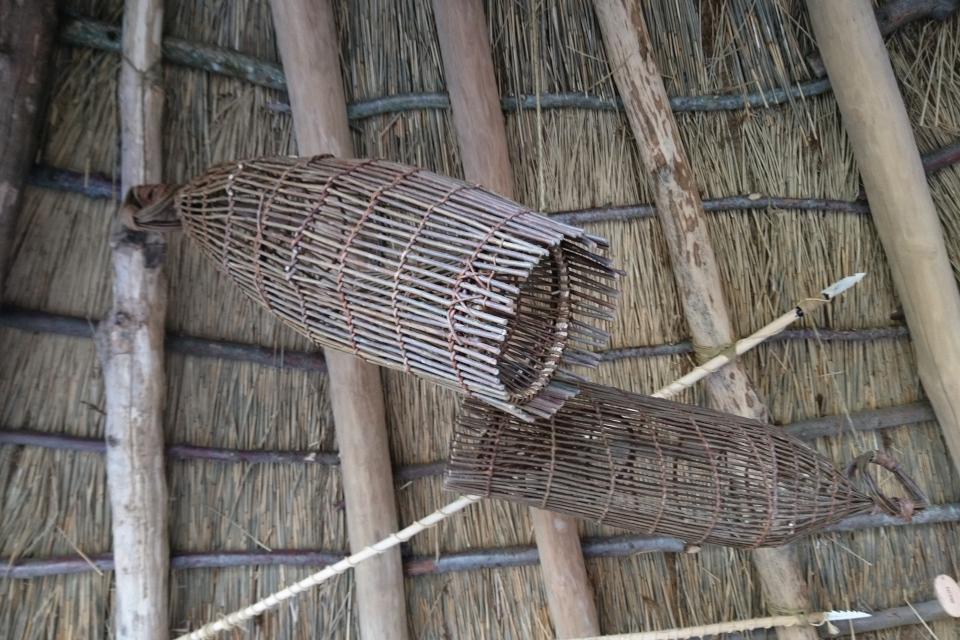 Корзинки для ловли рыбы. Фото Фото 14 окт. 2019. Парк каменного века Эртебёлле