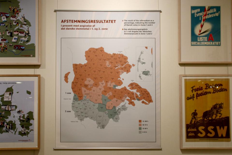 Результаты плебицит Шлезвиг 1920 г.