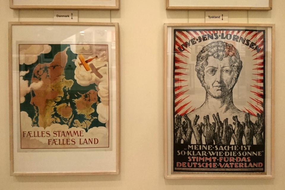 Агитационные плакаты плебисцита 1920 года в Шлезвиге