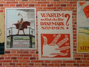 Агитационные плакаты плебисцита в Шлезвиге
