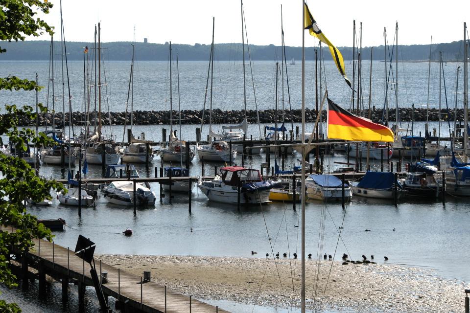 Вид с берега Вассерслебен (Wasserleben) / Сости (Sosti)