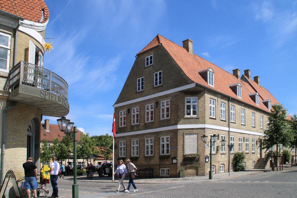 Гостевой дом (Gemein-Logis), г. Кристиансфельд / Christiansfeld, Дания.