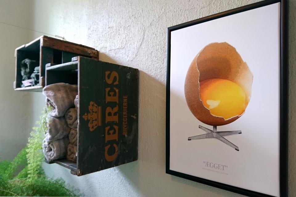 Датский дизайн Арне Якобсен, стул яйцо