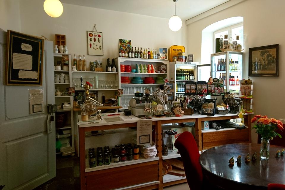Магазин хюгге в Кристиансфельд, Det Gamle Apothek