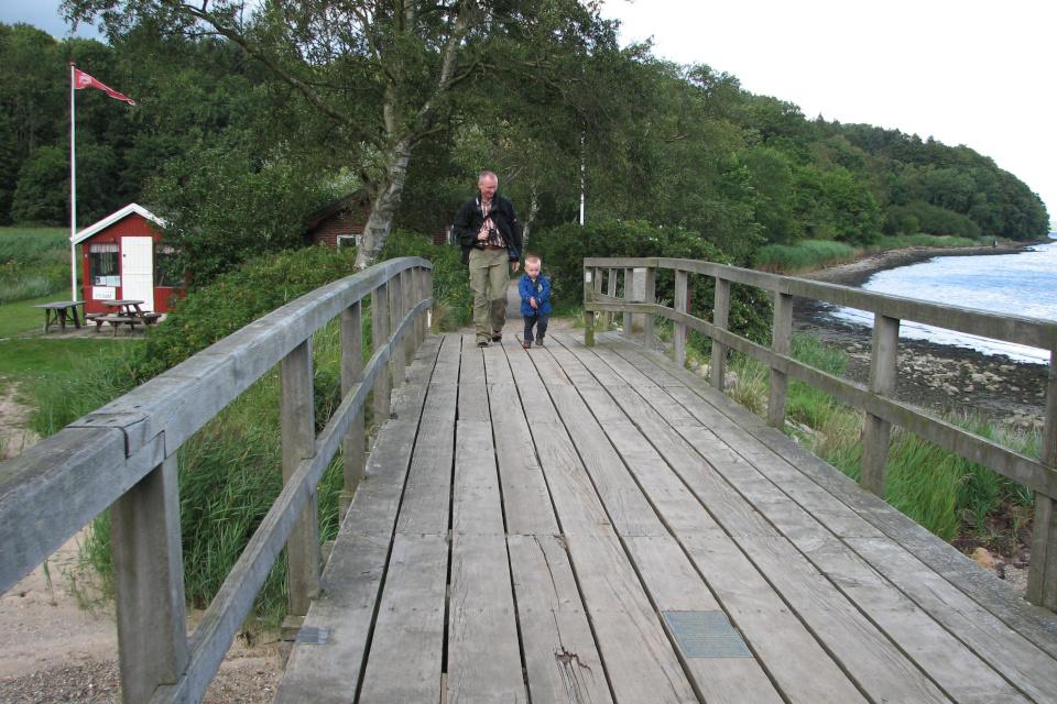 Через мостик из Дании в Германию