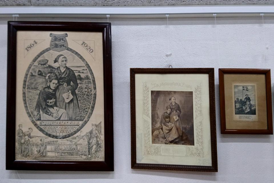 Картины с мотивами девушек Южной Ютландии (дат. De Sønderjydske Piger)