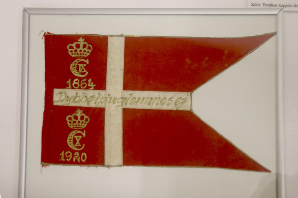Флаг, украшавший праздник в Дюбболь (Dybbøl)
