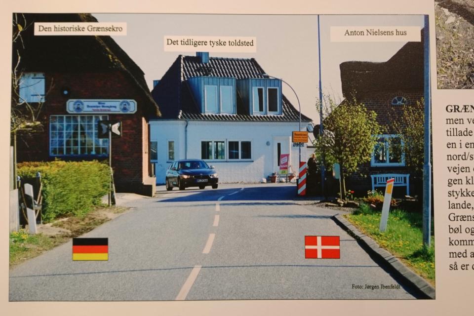 Место бывшей границы. Фото 17 июл. 2019, г. Кристиансфельд / Chritiansfeld, Дания