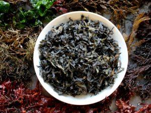 Сухие морские водоросли на моей кухне
