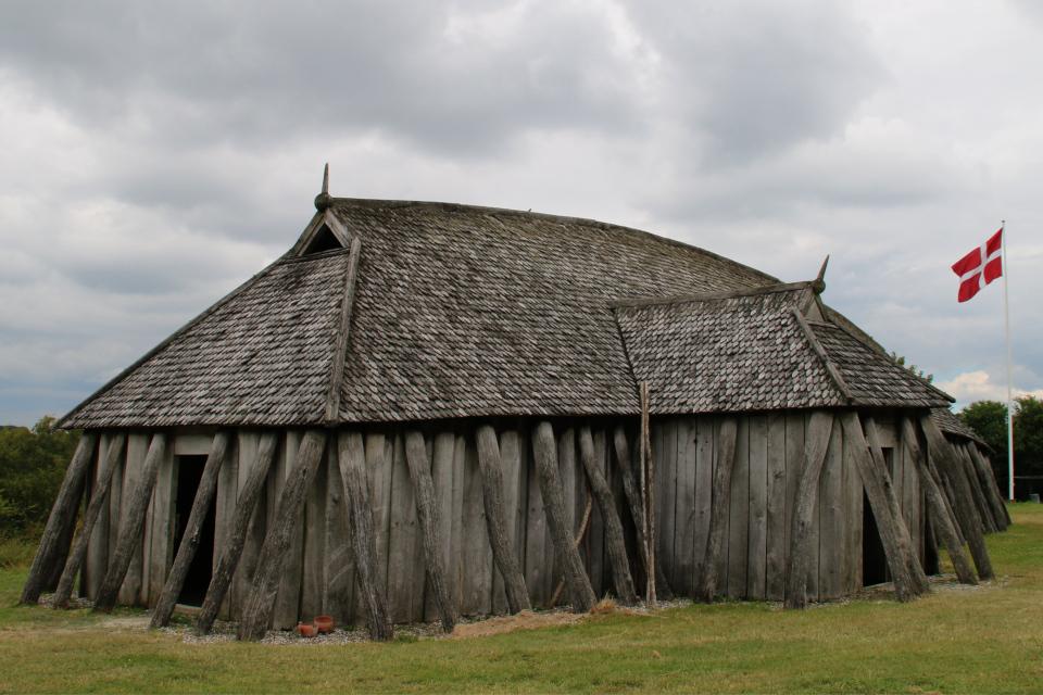 Дом викингов, фото 11 июл. 2019, музей поселения Фюркат / Fyrkat, Дания