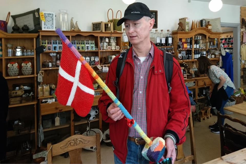 Магазин хюгге в Кристиансфельд, Det Gamle Apothek. Фото 17 июл. 2019, Дания