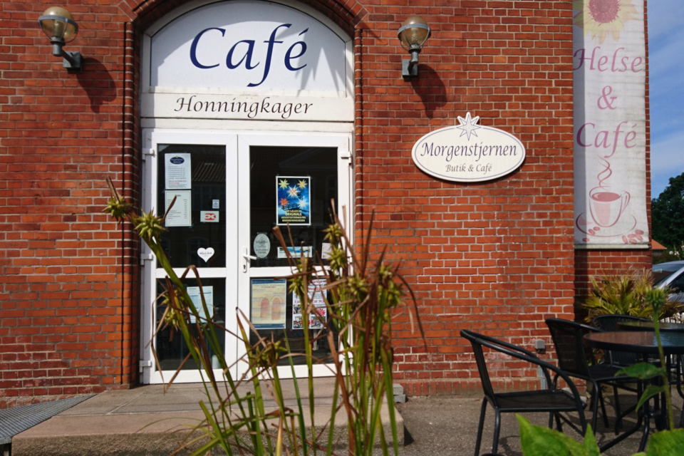 "Кафе ""Утренняя звезда"" (дат. Morgenstjerne), Кристиансфельд / Christiansfeld, Дания"