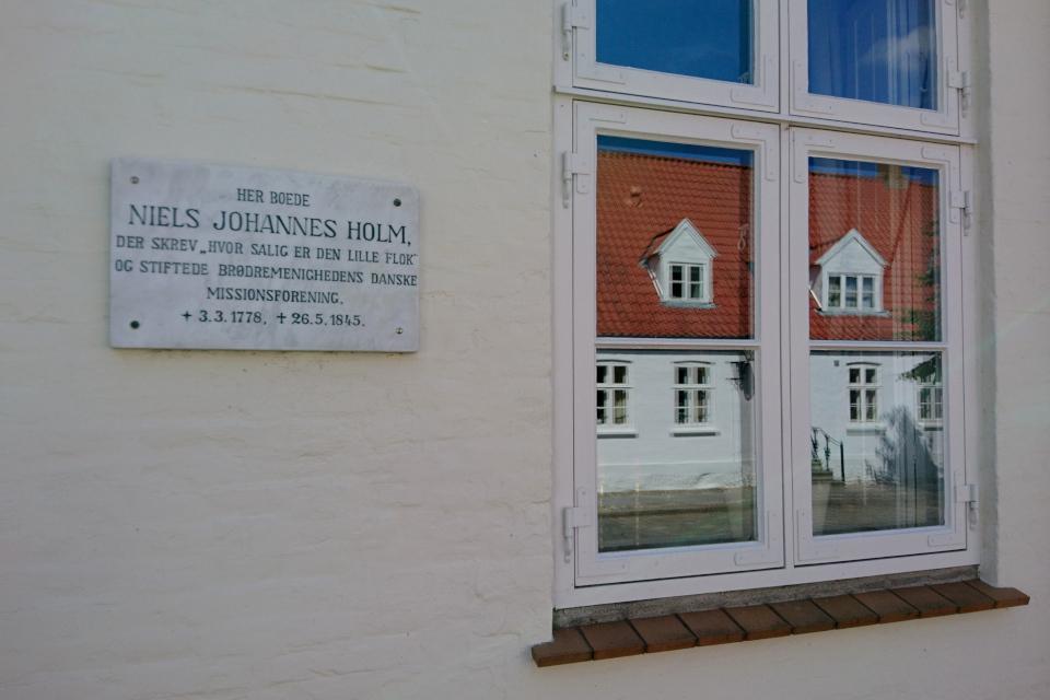 снователь общества миссионеров Дании - Нильс Иоханнес Хольм