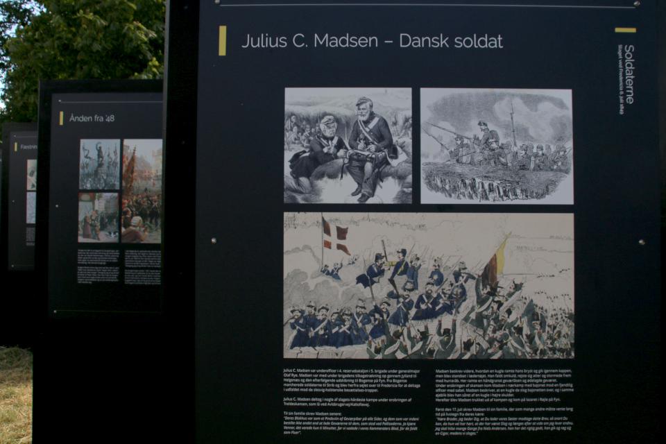 Выставка иллюстраций, посвященная истории датско-прусской войны