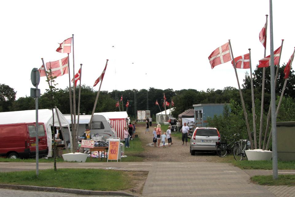Пограничный праздник (дат. Grænsefest) в Крусо (kruså), Дания. Фото 3 авг. 2008