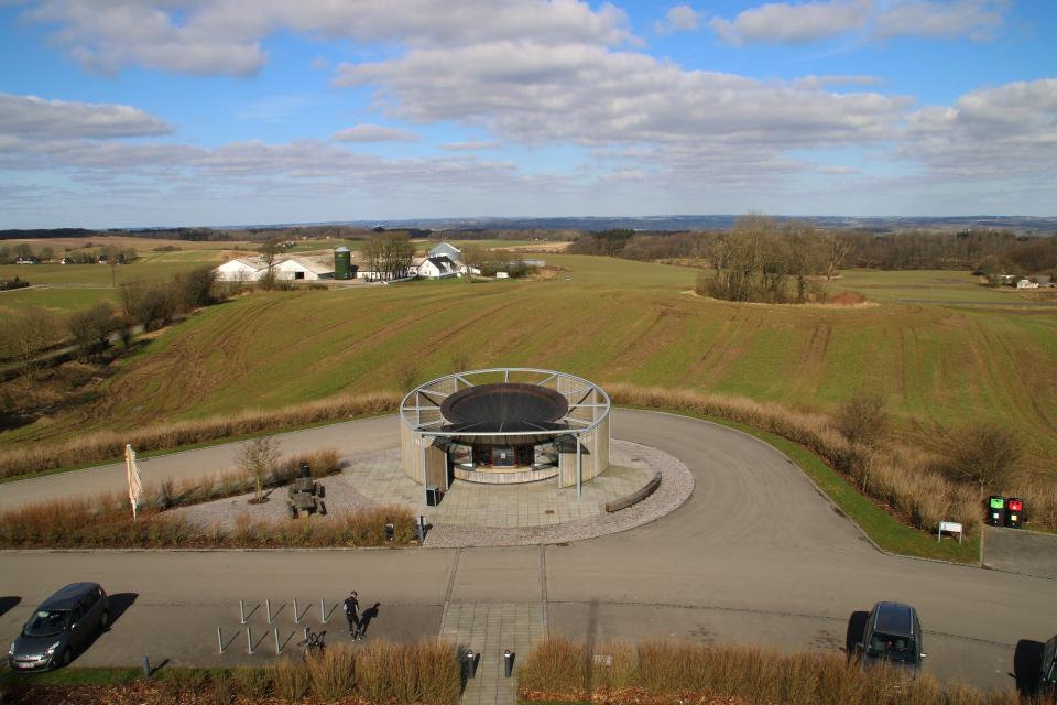 Вид со смотровой площадки Айер-Бавнехой / Ejer Bavnehøj, Дания
