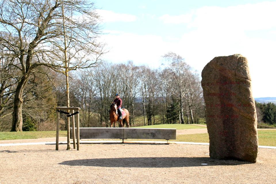 Монументальный камень в честь воссоединения Дании со Шлезвигом