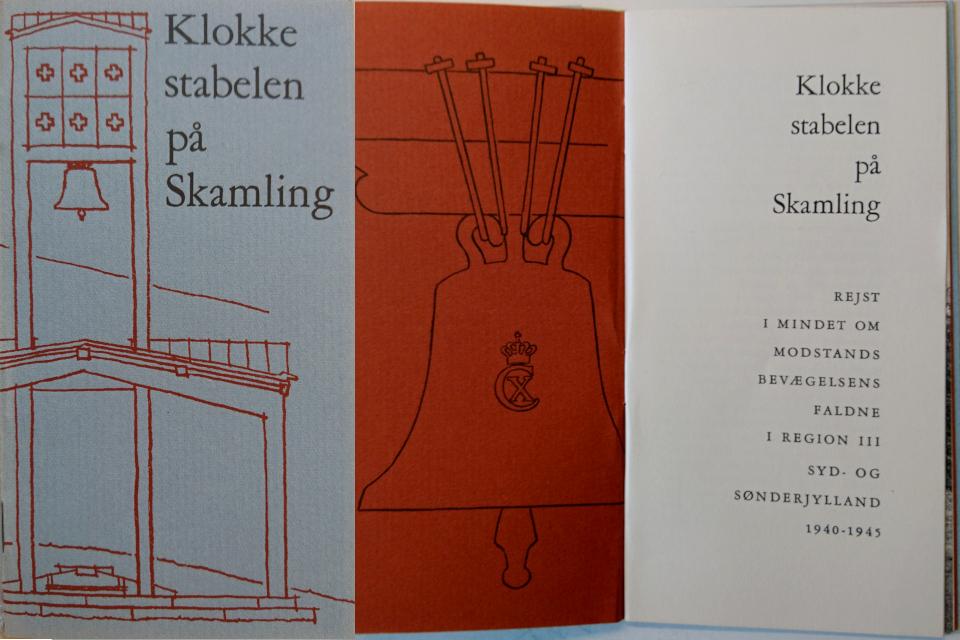 Брошюра про Клоккастаблен (Klokkestablen), изданная доброльцами фонда