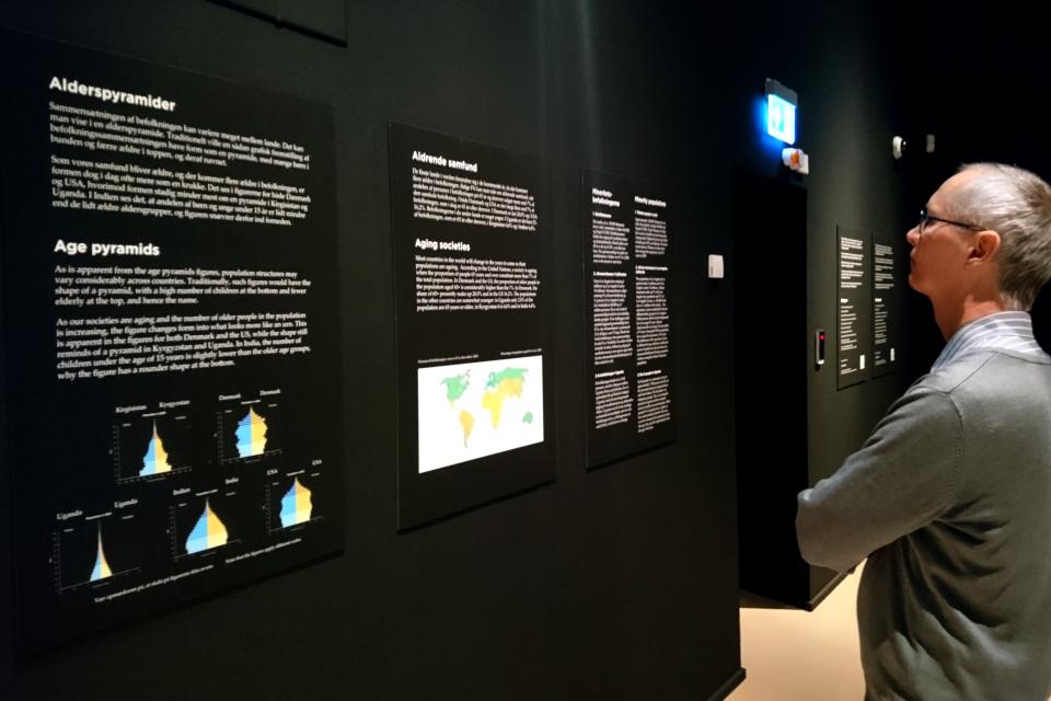 Когда я состарюсь - выставка в музее Мосгорд