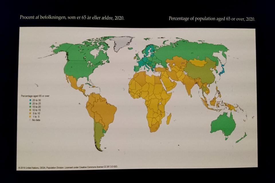 Население в возрастер более 65 лет