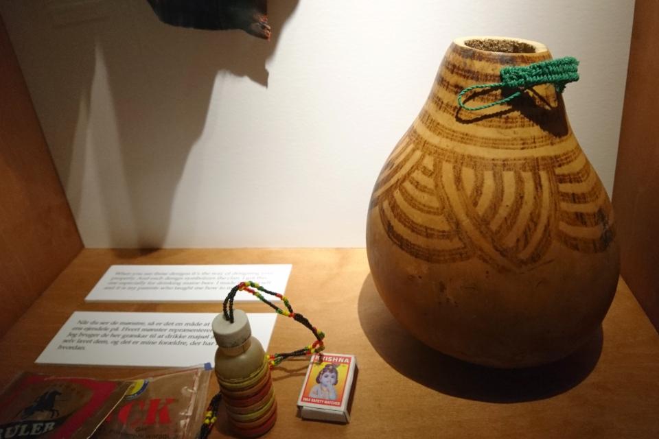 Кувам из Уганды - Когда я состарюсь - выставка в музее Мосгорд