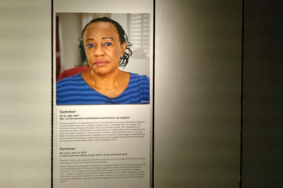 Саммэ из США Когда я состарюсь - выставка в музее Мосгорд