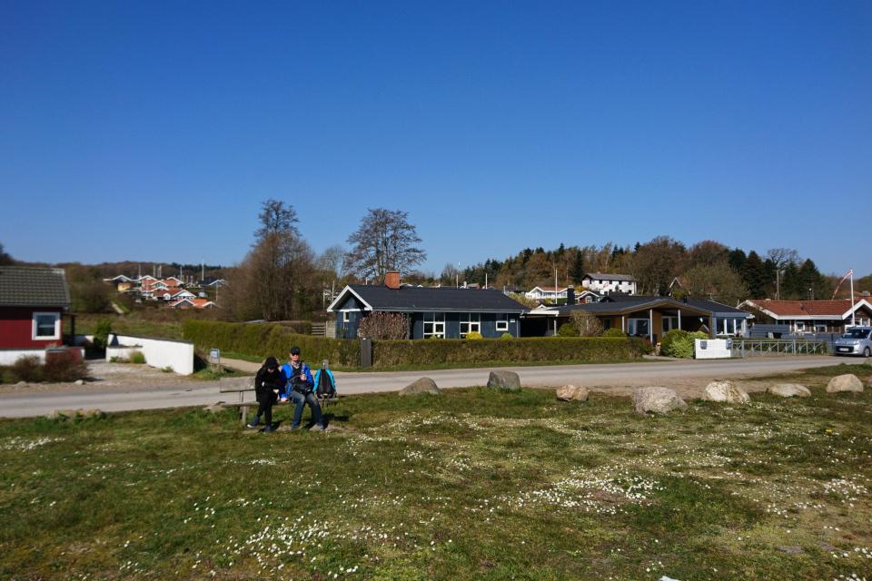 На берегу Биндеруп странн (Binderup Strand), Дания. Фото 17 апр. 2019